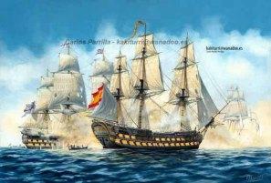 Navío Argonauta según Carlos Parrilla