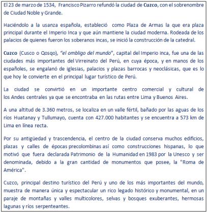 23 marzo tw cuzco